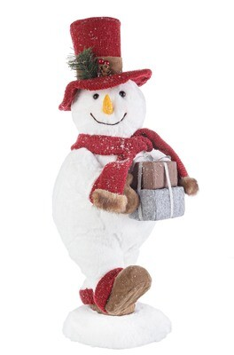 Bonhomme de neige, cadeaux