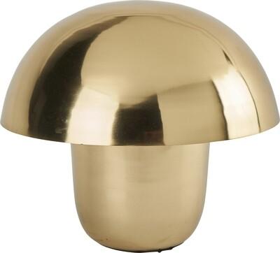 Lampe champignon dorée Athezza