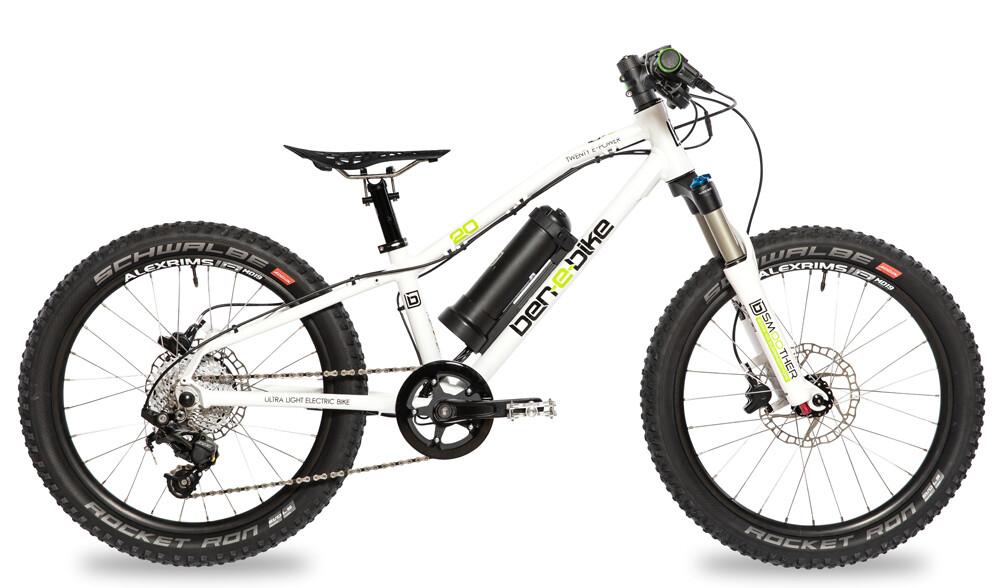 TWENTY E-Power PRO 2020 das super leichte 20 Zoll Kinder E-Bike