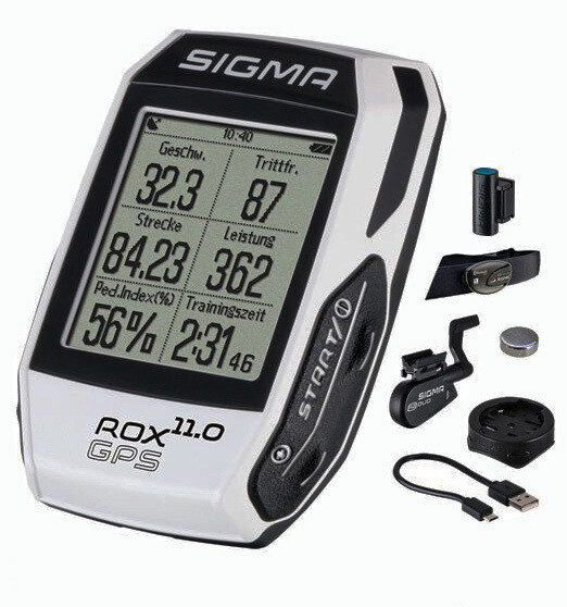 Fietscomputer Sigma Rox 11.0 Gps ANT+ Compleet