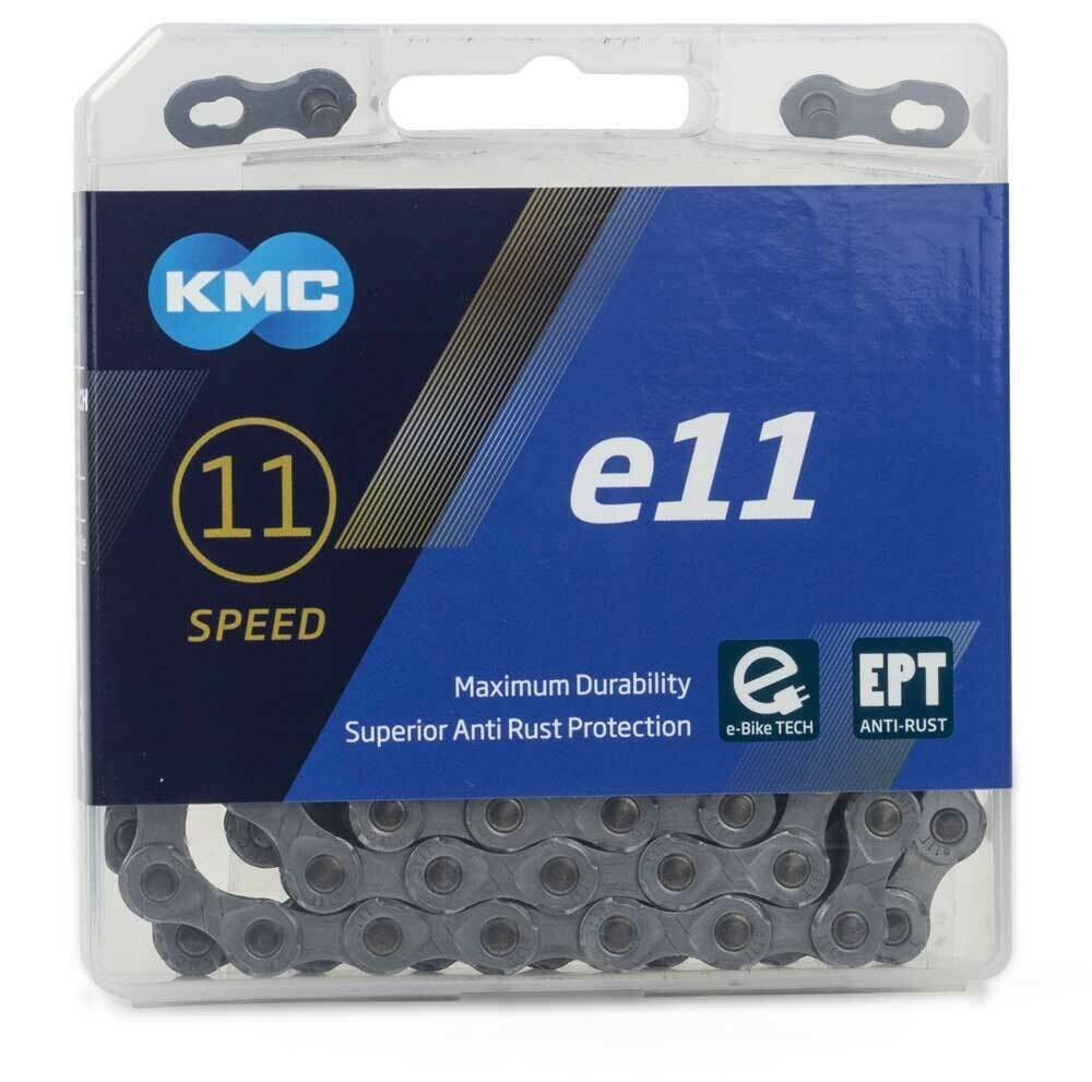 Ketting KMC e11 EPT E-Bike 11V 11/128 Zilver 122 Sch.