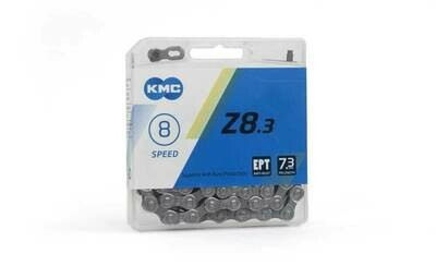 Ketting KMC Z8 EPT 7/8V 3/32 Zilver 114 Sch.