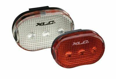 Lampset XLC Led 4032 Batterij Zwart