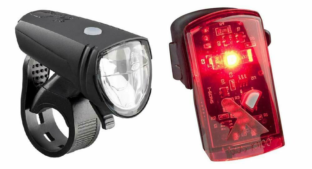 Lampset Axa Greenline 15 Led USB Zwart