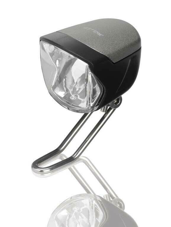 Koplamp XLC Switch E-Bike CL-D06 6-48V Led met Standlicht Sensor Zwart