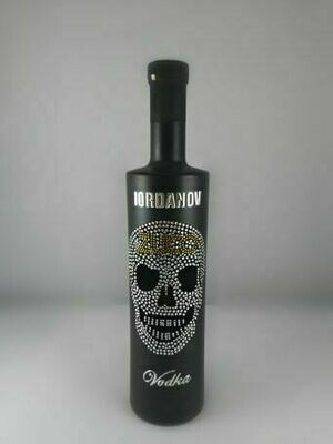 70cl -* Limited Edition BLACK bottle ZUCO design * Iordanov Crystal Clear Pearl Face Vodka - Soft drinks - Pipers Chips