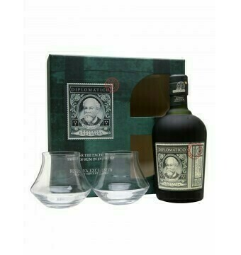 Diplomatico Rum Reserva Exclusief met 2 glazen + ZUCO T-shirt twv 25 euro - Soft drinks - Pipers Chips