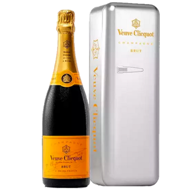 Veuve Clicquot Fridge Metal - Incl ZUCO T-shirt twv 25 euro - Pipers Chips