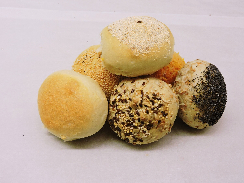 Soepbroodjes gemengd