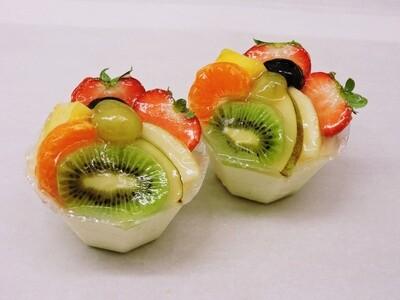 Rijstpotje met fruit