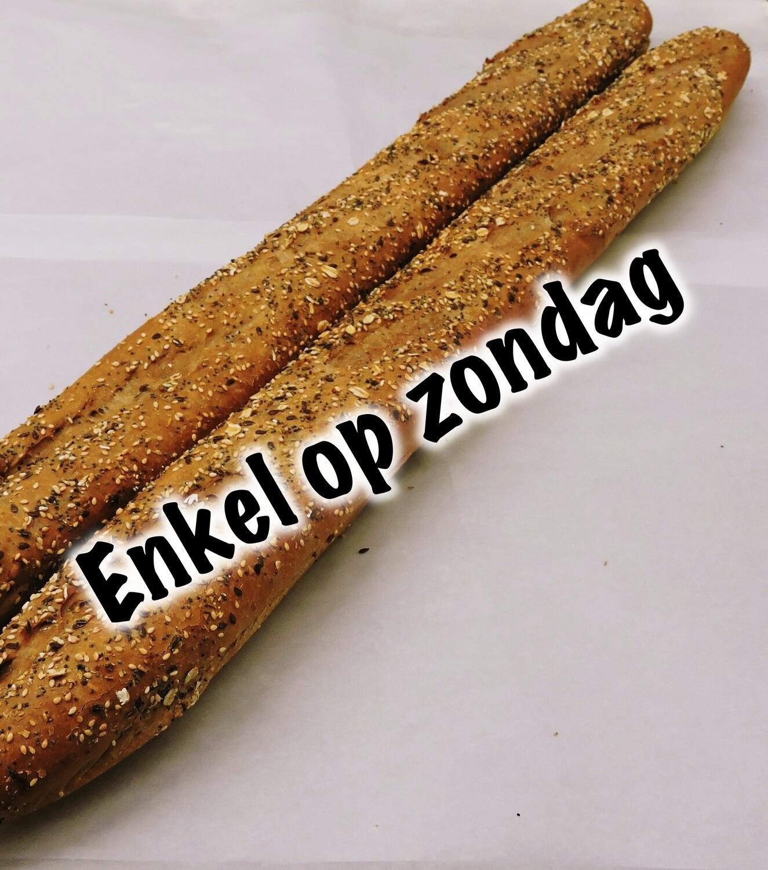 Meergranen stokbrood