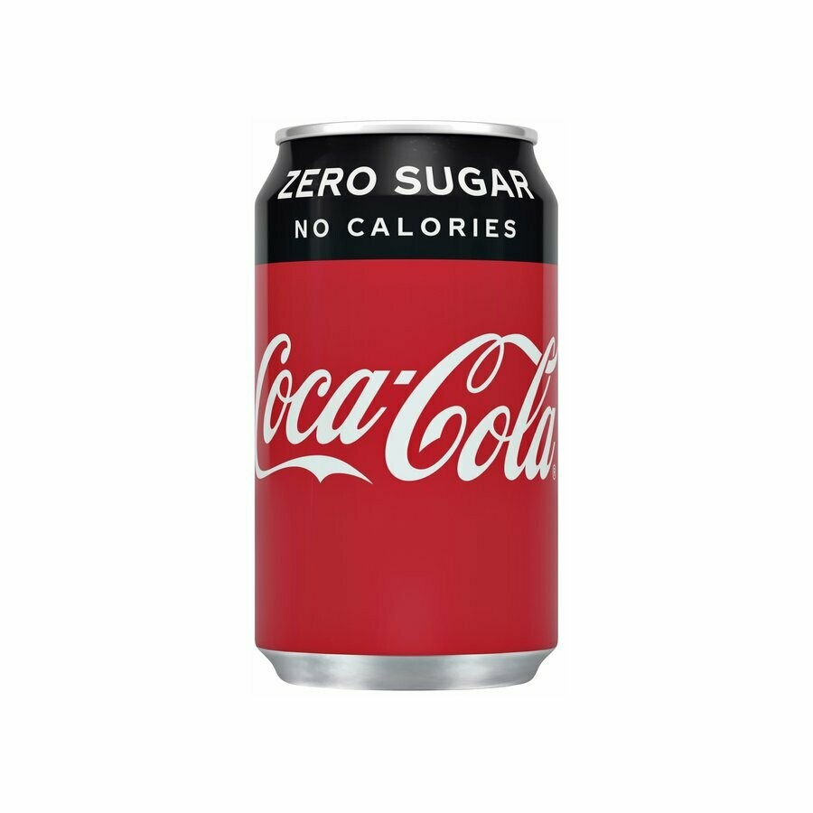 Cola zero 0,33l.