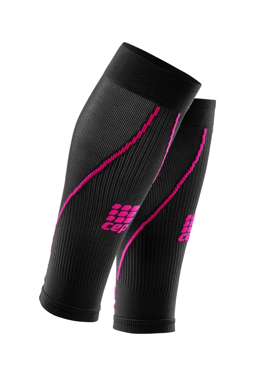 CEP Calf Sleeves Black/pink WS45K0