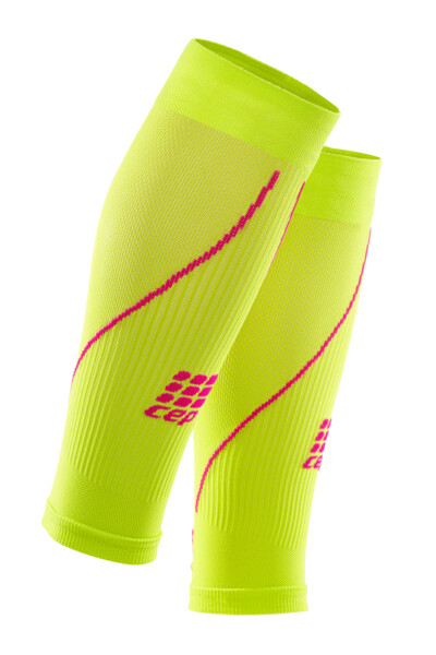 CEP Calf Sleeves Lime/pink WS4570