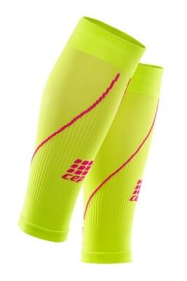 CEP Calf Sleeves Lime/pink WS4570