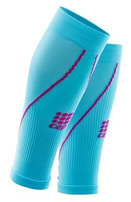 CEP Calf Sleeves Hawaii blue/pink WS45F0
