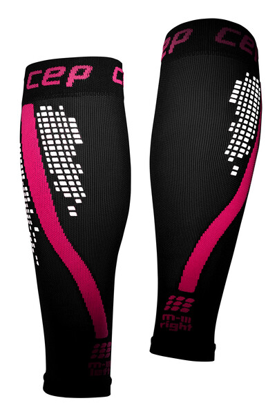 CEP Nighttech Calf sleeves Pink WS5H402