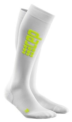 CEP Ultralight Run Socks White/green WP45WC
