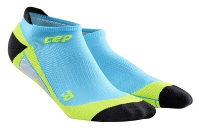 CEP No Show Socks hawaii blue/green WP56H0