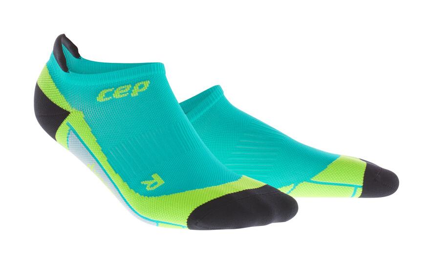 CEP No Show Socks lime/hawaii blue WP5680