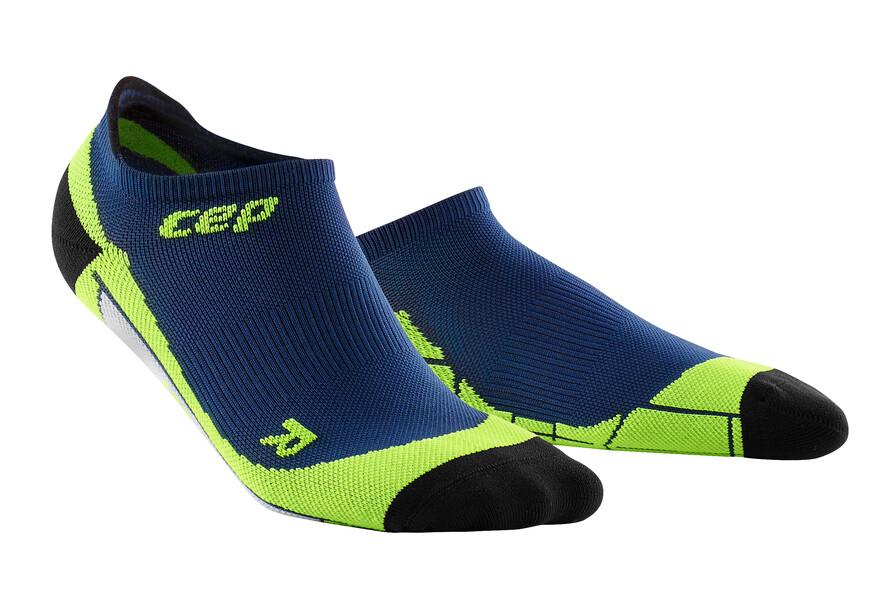 CEP No Show Socks deep ocean/green WP56A0