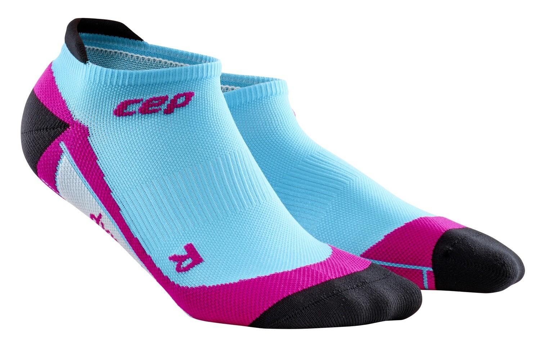 CEP No Show Socks hawaii blue/pink WP46F0