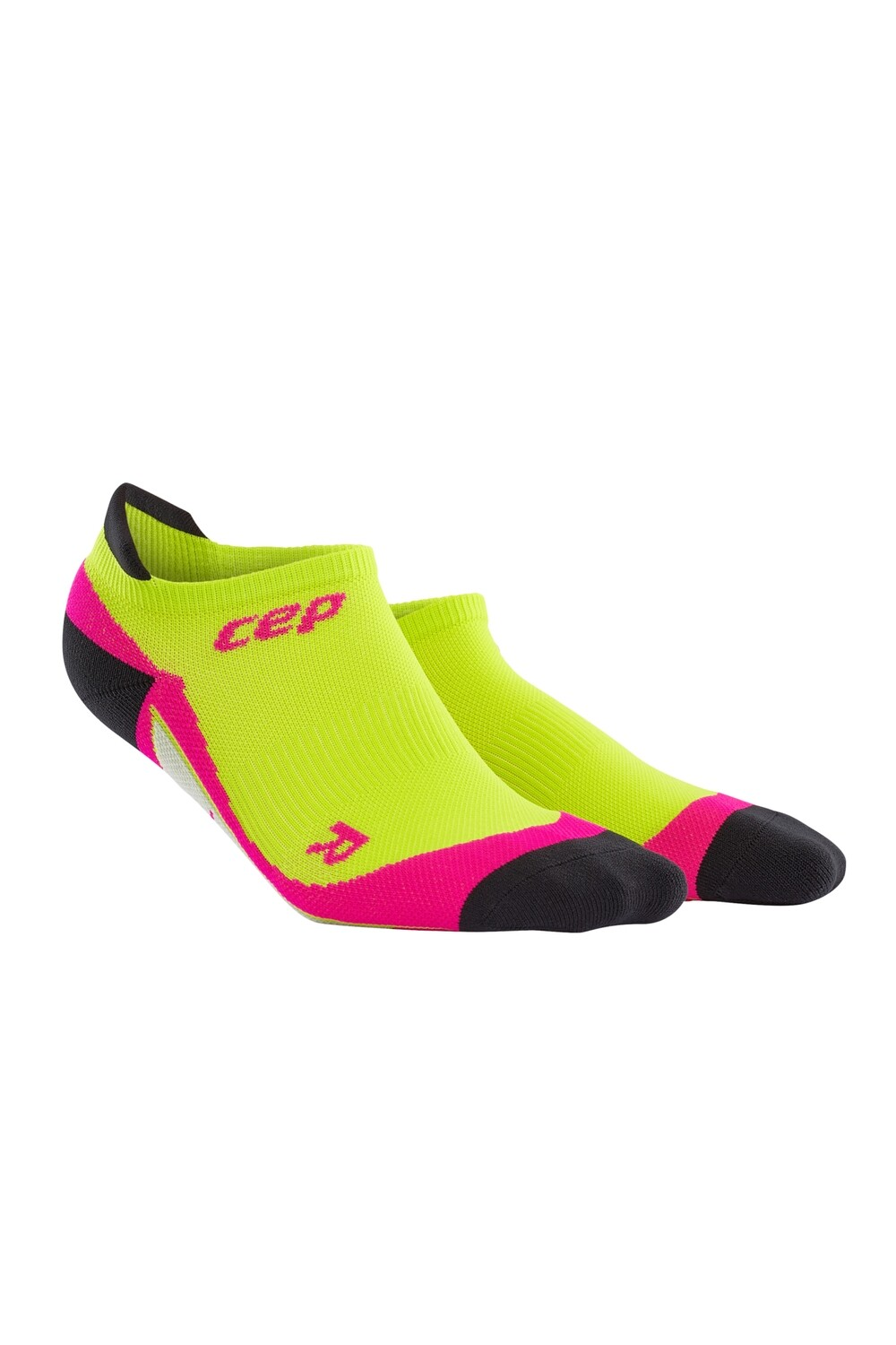 CEP No Show Socks lime/pink WP4670