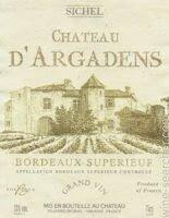Chateau Argadens, Aoc Bordeaux Superieur, 2017 France, Bordeaux