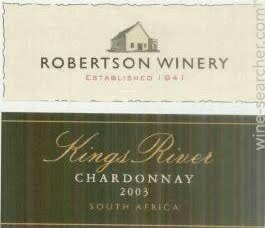 Kings River, Cabernet Merlot Pinotage, Robertson, 2019 South Africa