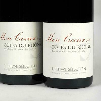 C�tes Du Rh�ne, Moncoeur, Jean-Louis Chave Selection, 2017 France, Rhone
