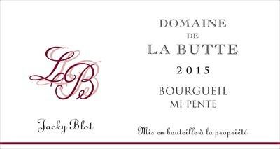 Bourgueil, Le Haut De La Butte, Domaine De La Butte, 2016 France, Loire