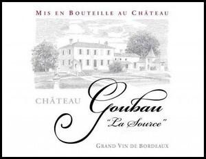 Ch�teau Goubau, La Source, 2016 France, Bordeaux