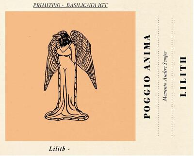 Primitivo, Lilith, Salento Igp, Poggio Anima, 2018 Italy,  Puglia