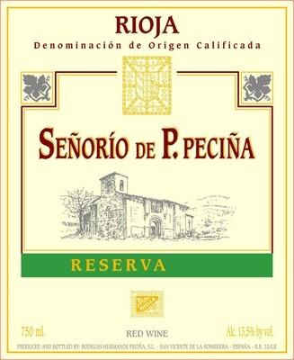 Rioja, Reserva, Hermanos Pecina, 2013 Spain, Rioja