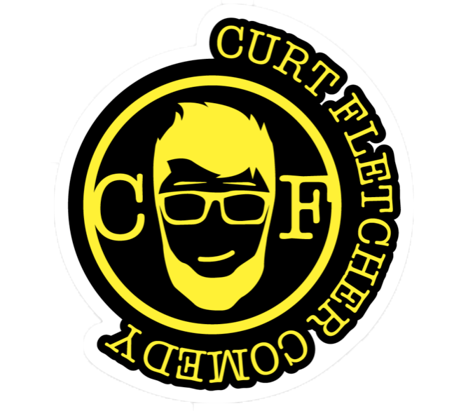 Curt Fletcher Comedy Sticker