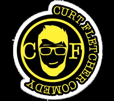 Curt Fletcher Comedy Sticker