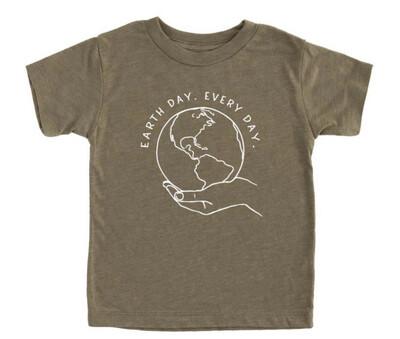 Earth Day Organic Adult Tee
