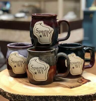 Sparta WI Pottery Mug