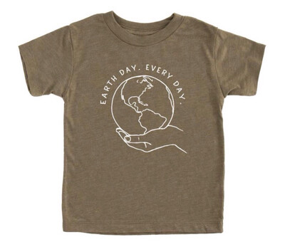 Earth Day Kids T-shirt