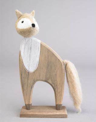 Felted Wood Fox
