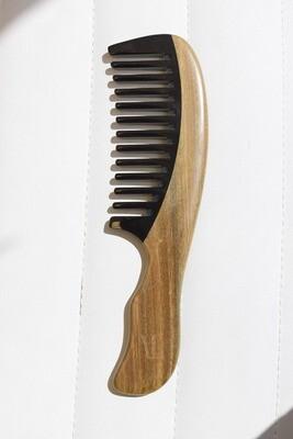 VLSS Wooden Detangling Comb
