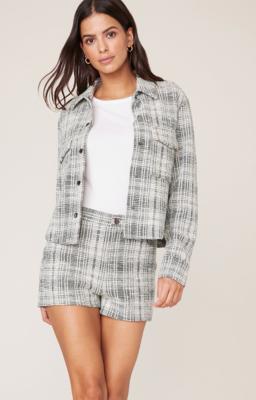 Tweed Snap Jacket