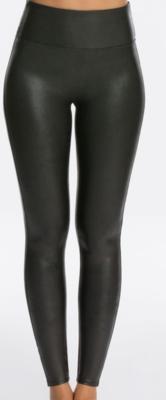 Black Leather Legging