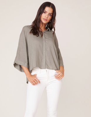 Sage Button-Down