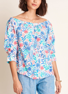 Floral Off-Shoulder Top