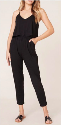 Blk Cozy Jumpsuit