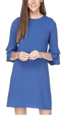 Royal Bell Sleeve Dress