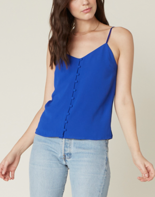 Cobalt Button Tank