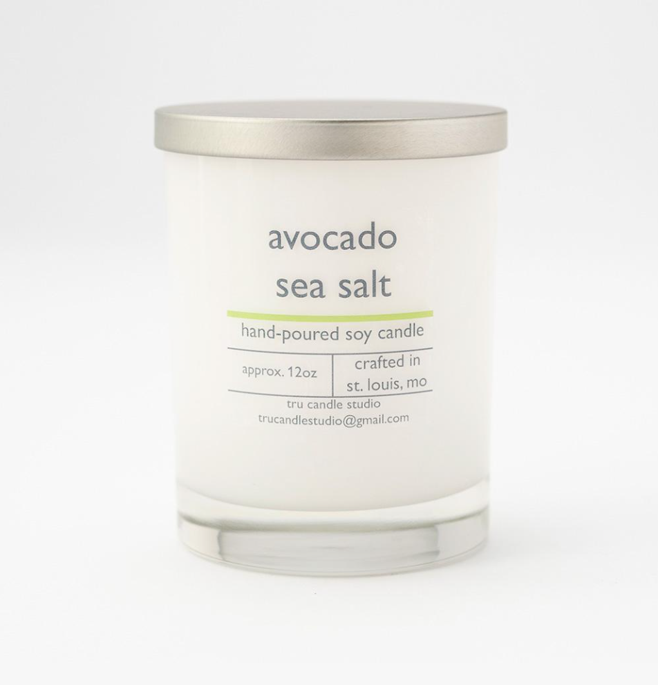 Avocado Sea Salt Candle