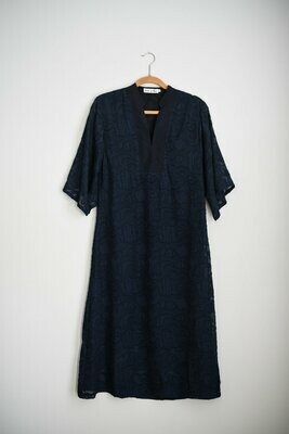 Navy Eleanor Lace Dress